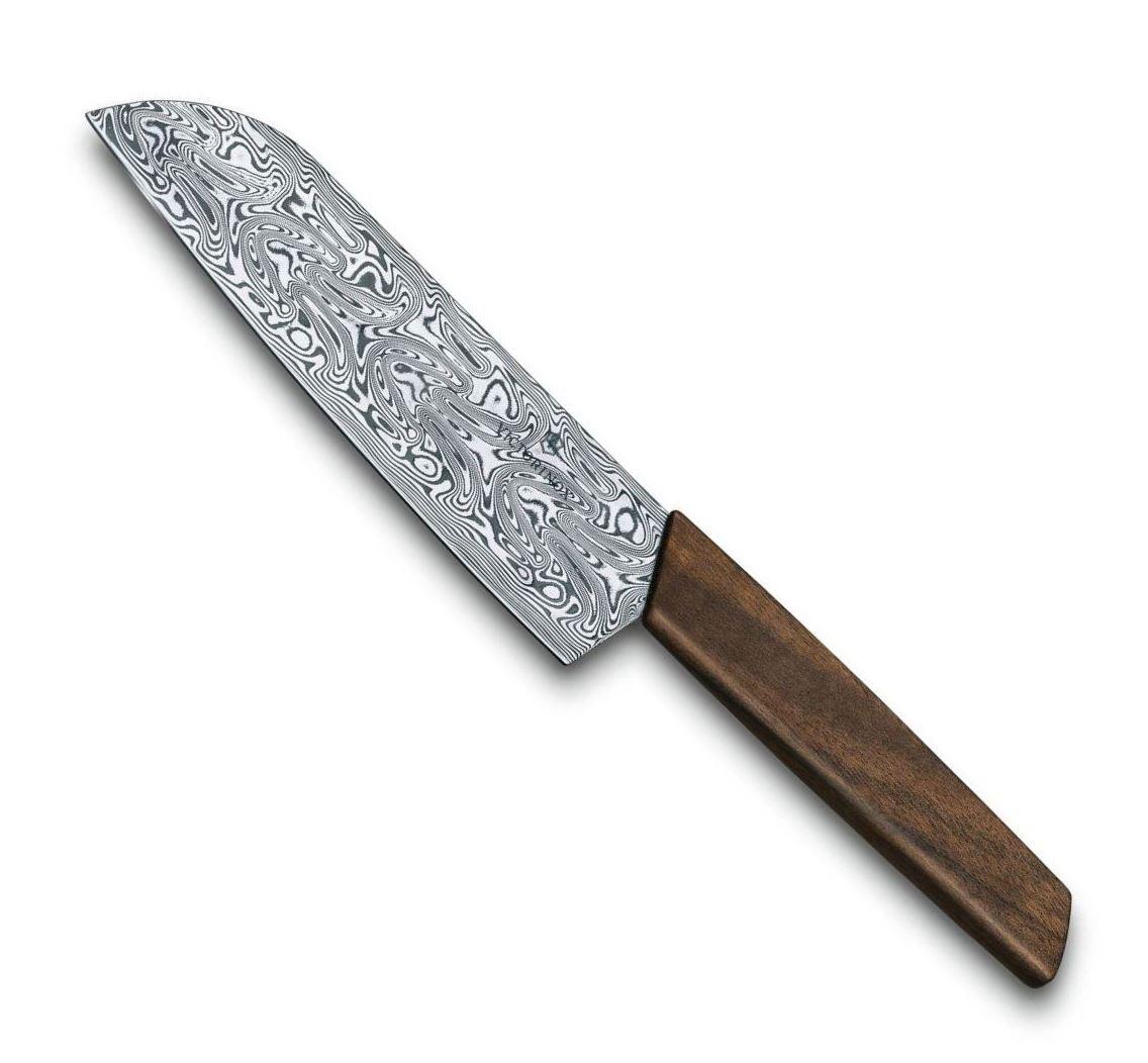 Japonský Nůž Santoku Damast Limited Edition 2020 SWISS MODERN 17 cm - Victorinox