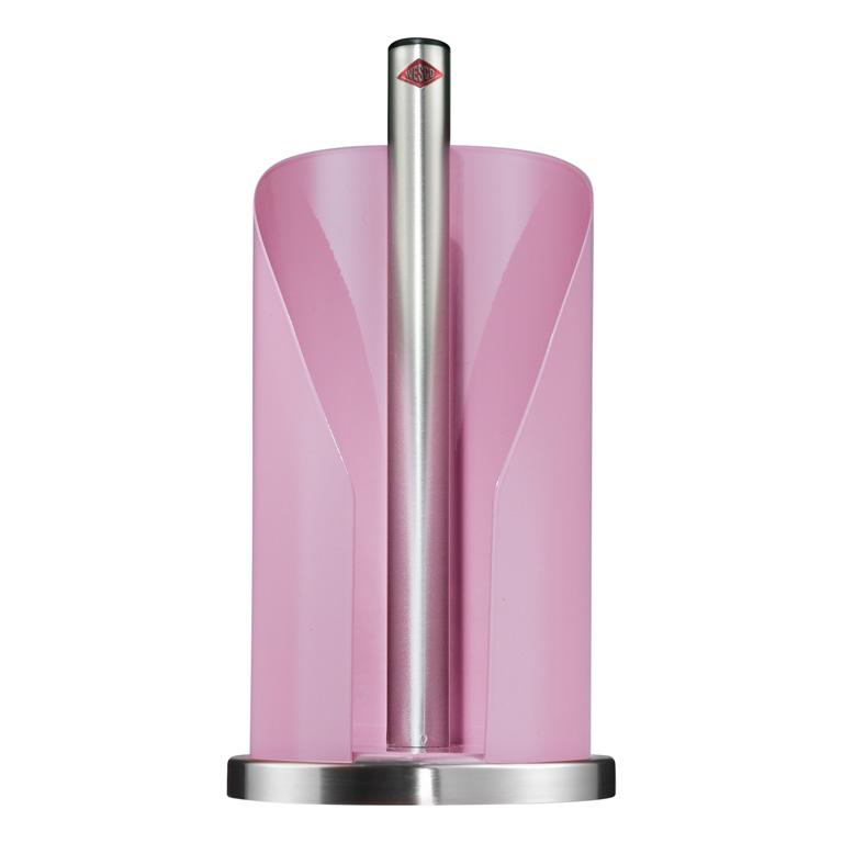 Držák na papírové ubrousky růžový - Wesco