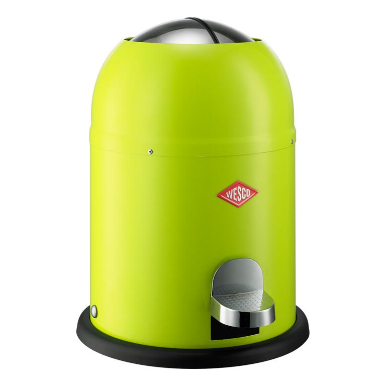 Odpadkový koš Single Master nášlapný zelená 9l - Wesco