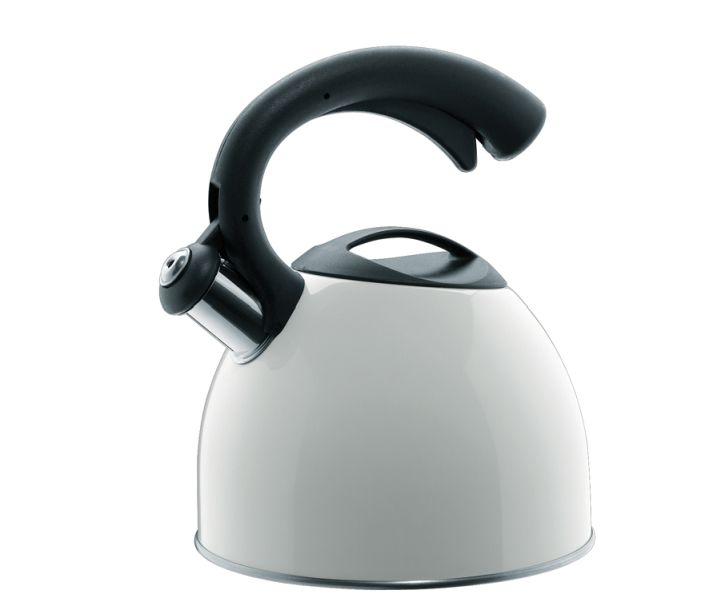 Konvice na vaření vody Count 2,5l bílá - Cilio