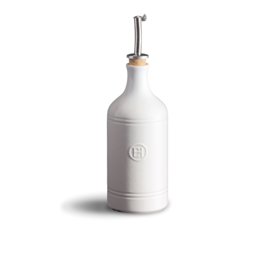 Dóza na ocet/olej Flour bílá nugátová - Emile Henry