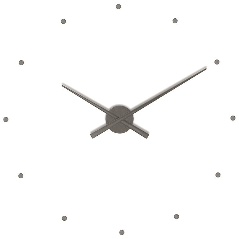 Nástěnné hodiny NOMON OJ grafitové 80 cm - NOMON