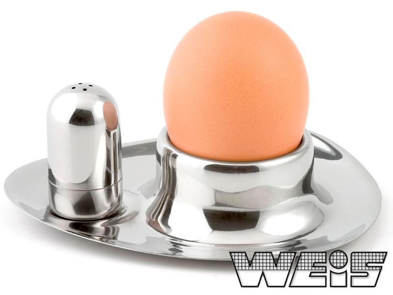 Stojánek na vajíčko se slánkou - Weis