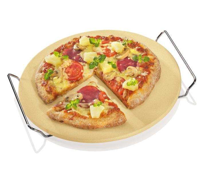 Pizza kámen s rámem 30 cm - Küchenprofi