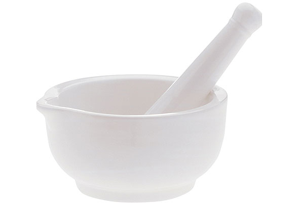 Porcelánový hmoždíř WHITE BASICS 12 cm - Maxwell Williams