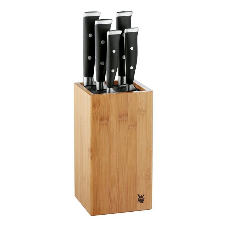 Sada nožů s blokem Grand Class 6-dílná - WMF